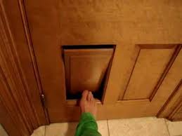 Six Panel Oak Interior Doors Clever Cat Litter Box Ragdoll Cat Door In A 6 Panel Door