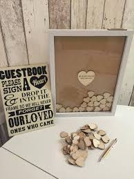 wedding guestbook a wooden heart frame guest book wedding pin wednesdays