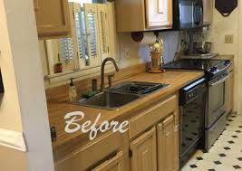 kitchen remodel from galley to open concept ray tiling