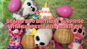 beanie boo birthday surprise pony shopkins