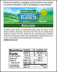 hidden valley avocado ranch hidden valley