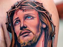 45 jesus tattoo designs
