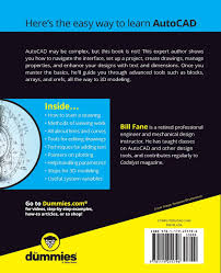 autocad for dummies 17th edition for dummies computers