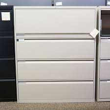 Used Lateral File Cabinets Used Teknion 4 Drawer 42 Lateral File Cabinet Fil1497 030