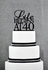 40 cake topper interesting design 40th birthday cake toppers astounding ideas