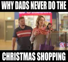 Christmas Shopping Meme - kinne finally dads can go christmas shopping too