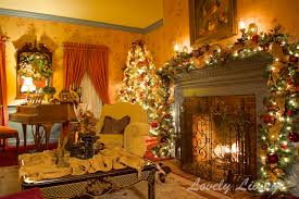 Livingroom Accessories Cozy Christmas Living Rooms With Fireplaces