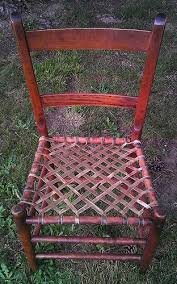 Caning A Chair Rawhide Or Raw Hide Seats