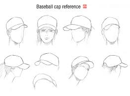 baseball cap and head guide by randychen deviantart com on