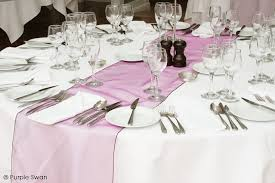 table runners wedding table runner hire cumbria wedding swagging lake district