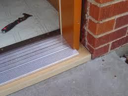 Exterior Door Threshold Installation Exterior Door Threshold Plate Exterior Doors Ideas