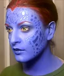 Mystique Halloween Costume 35 Easy Halloween Makeup Ideas U0026 Tutorials 2017 Cool Halloween