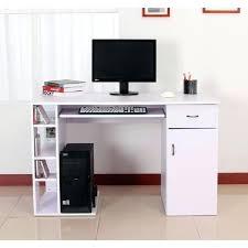bureau ordinateur blanc laqué meuble ordinateur blanc petit bureau ordinateur meuble ordinateur