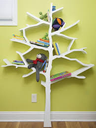 Nursery Bookshelf Ideas Bookshelf Designs Inspired By Trees Home Tweaks