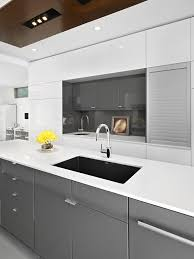 replacement cutting boards for kitchen cabinets high gloss kitchen contemporary with clean lines transitional