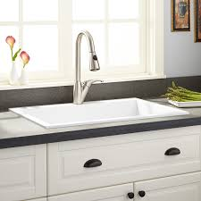 White Granite Kitchen Sink 30 Holcomb Drop In Granite Composite Sink Cloud White Kitchen