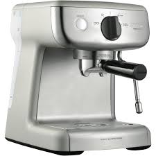 espresso maker how it works sunbeam em4300 mini barista espresso machine at the good guys