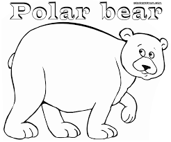 polar bear coloring pages coloring pages download print