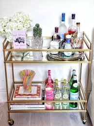 home design interiors bar cart ideas surprising how to decorate a bar cart in home