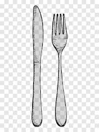 kitchen forks and knives fork and knife drawing cutlery on a transparent background