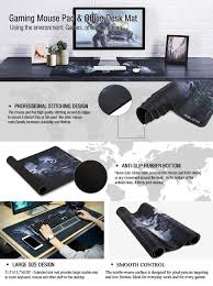 desk size mouse pad amazon com jialong gaming mouse pad large size 800x400mm non slip