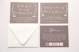 bridesmaid card wording will you be my bridesmaid of honor matron of honor