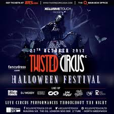 ra tickets twisted circus halloween festival 2017 at building six