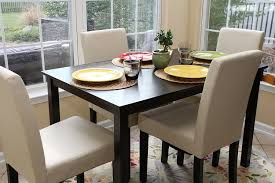 dining room modern dining chairs with glass window and brown wall