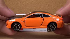 lexus sports car model tomica 013 lexus rc f takara tomy toy car youtube