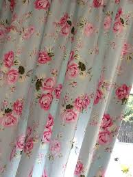Shabby Chic Voile Curtains 227 Best Rose Print Curtains Images On Pinterest Curtains