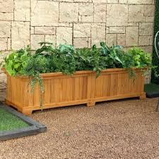 efecin cedar planter boxes large planter box cool planter