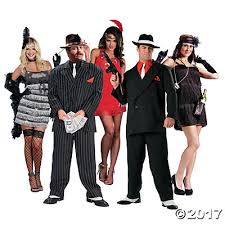 1920s Halloween Costume Group Costumes