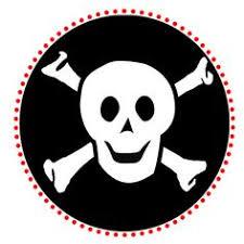 small printable skull flags coolest free printables arrrr