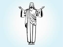 jesus christ vector art u0026 graphics freevector com