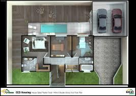 big double storey house plans home deco plans