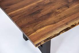 Walnut Live Edge Table by Walnut Live Edge Table Solid Hardwood Furniture Locally