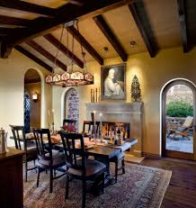 spanish dining room spanish style home demejico with image of