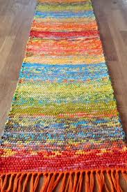 Rag Rug Weaving Instructions Rigid Heddle Loom Weaving Pattern Pdf Shabby Chic Table Runner