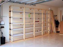 Wooden Garage Storage Cabinets Plans by Diy Garage Shelves Plans With Plywood Home Interiors