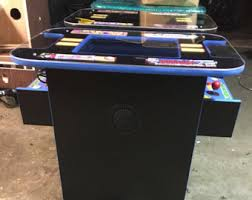 Pacman Game Table by 60 In 1 Multicade Cocktail Two Player Sit Down Arcade Game Pac