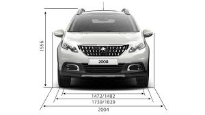 peugeot 2008 black peugeot 2008 suv technical information peugeot uk