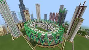 minecraft sports stadium gigantic city minecraft map android apps on google play