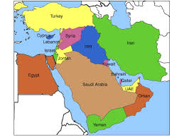 mid east map middle east mental map baker world history middle east showme