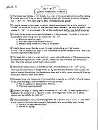 Exponential Functions Word Problems Worksheet Math 3 Lessons
