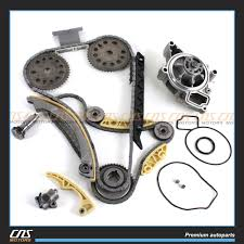 timing chain balance shaft water pump kit for gm saturn chevrolet