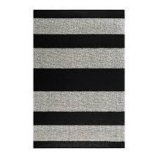 Large White Shag Rug Buy Chilewich Large Stripe Shag Rug Black White Amara