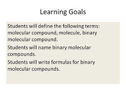 4 2 representing molecular compounds agenda practice writing and