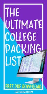 College Packing Checklist 369 Best Dorm Sweet Dorm Images On Pinterest College Dorm Rooms