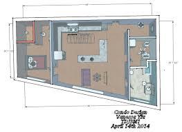 sketch up condo design vanessa u0027s portfolio
