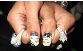 rockstar nails rihanna nail designs video 1000 images about